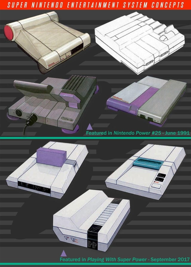 Previously published concept art for the SNES.
